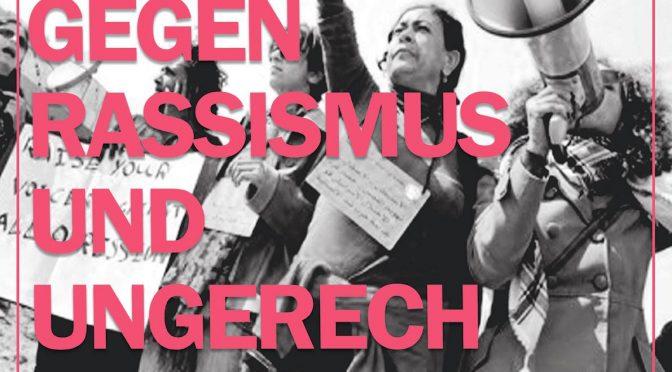 Demonstration 10.03. Frauen* – gemeinsam gegen Rassismus und Ungerechtigkeit